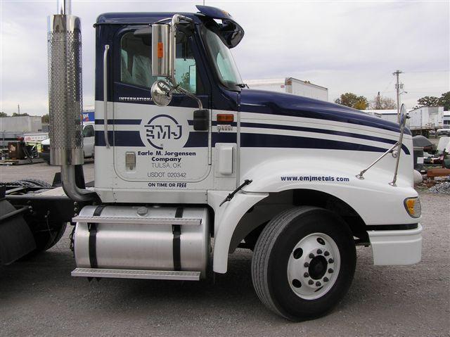 Emj metals truck decal by empire truck rebuilders tulsa ok