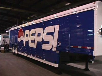 Pepsi Truck Decal by Empire Truck Rebuilders, Tulsa, OK