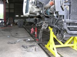 Truck Alignment requires special skills and equipment. We have both.