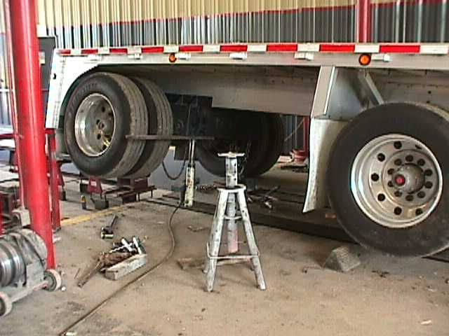 Damaged Truck Frames require special skill to straighten and repair ...