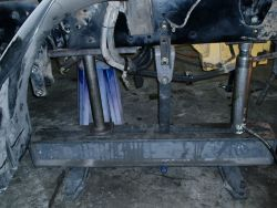 Truck Frames are straightened by Empire Truck Rebuilders